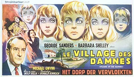Village of the Damned French Poster