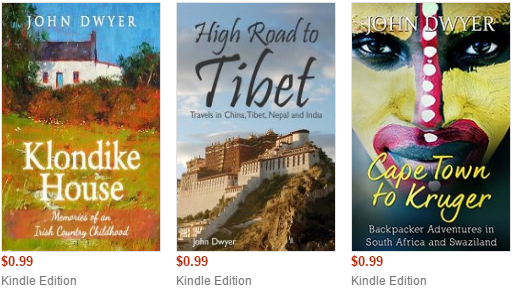 Travel writing adventure books for only 99p