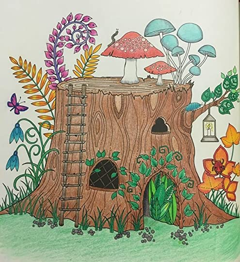 Enchanted Forest An Inky Quest Amp Colouring Book By