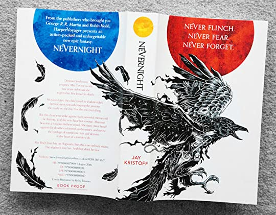 Nevernight by Jay Kristoff (UK cover)