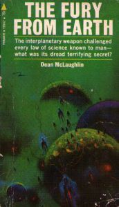 The cover of <i>The Fury from Earth</i> by Dean McLaughlin.