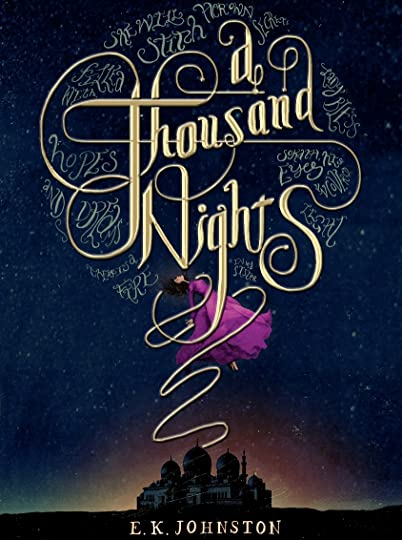 Image result for a thousand nights book cover