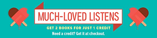 Audible's Much Loved Listens 2-for-1 sale