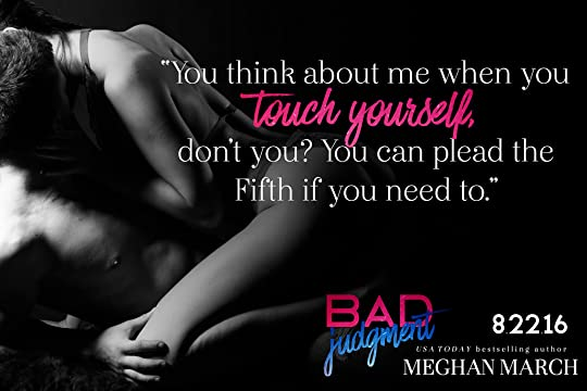 Bad Judgment by Meghan March — Reviews, Discussion ...