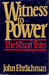 Witness to Power by John D. Ehrlich