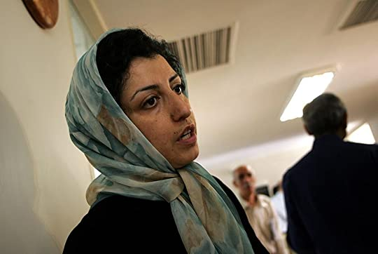 Iranian human rights activist, Narges Mohammadi, at the Defenders of Human Rights Center in Tehran, June 25, 2007.