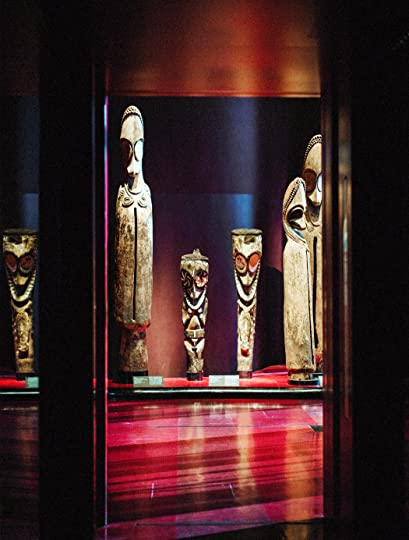 Oceanic statues in the main hall of the Musée du Quai Branly, whose multilevel open floor plan crosses eras and oceans. Credit Julien Mignot for The New York Times