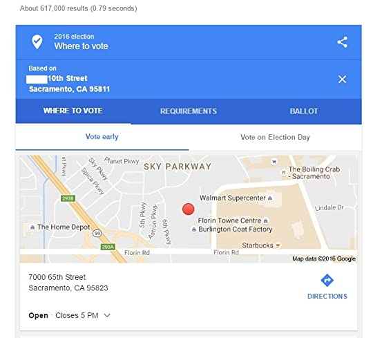 Google Giving Wrong Voting Locations