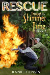 Rescue Through the Shimmer of Time, by Jennifer Jensen