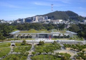 California Academy of Sciences, San Francisco Architect: Renzo Piano Building Workshop