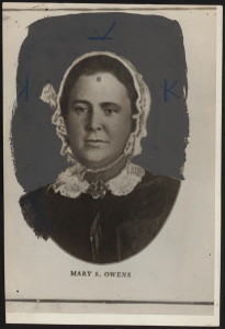Mary Owens (courtesy of Library of Congress)