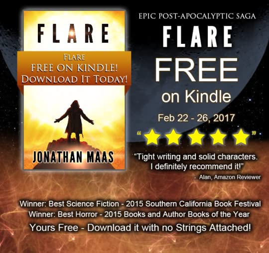 Promo for Flare Kindle Giveaway - Feb 22-26, 2017