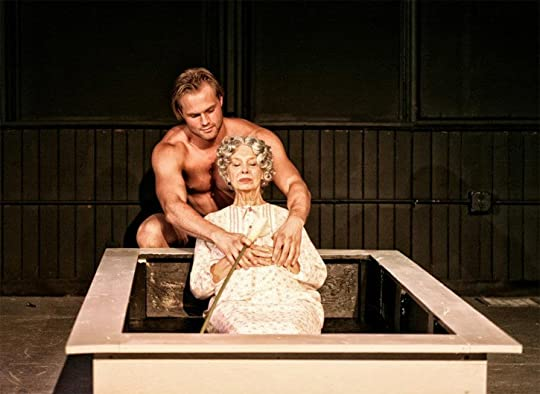a review of the book the sandbox by edward albee Books music art & design tv & radio stage the decision of edward albee's estate to deny production rights over the casting choice of a black actor has reignited a debate over or who is sylvia review - damian lewis shines in albee's bestial classic published: 5 apr 2017.