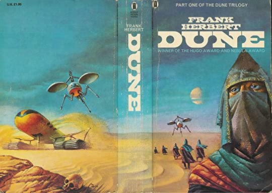 a review of frank herbert epic dune Twelve years have passed since the events of frank herbert's dune, years of bloody war for universal conquest by muad'dib's fremen crusaders the former emperor's house corrino family.