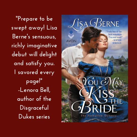 Graphic: Lenora Bell on You May Kiss the Bride (Avon Books, April 2017):