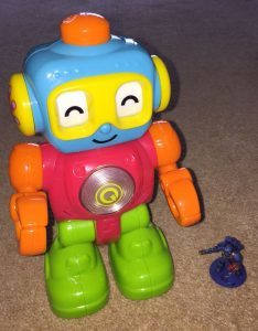 One of Sammy's Toy Robots