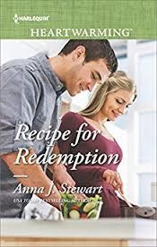 Cover for RECIPE FOR REDEMPTION by Anna J. Stewart (Harlequin)