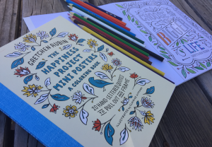 Coloring book by Gretchen Rubin