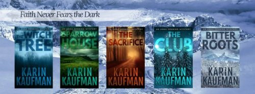 Interview and Giveaway with Karin Kaufman, Author of the Anna Denning Mystery Series