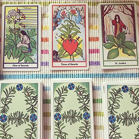 Past present future #tarot #tarotreadersofinstagram #mood