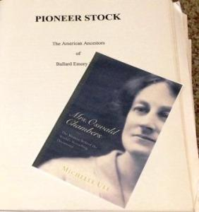 Genealogy, biography, Mrs. Oswald Chambers, Family research libraries, what does genealogy have to do with writing a biography?