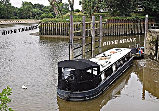 Mouth of the River Brent at Brentford