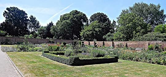 Walled garden at Eastcote