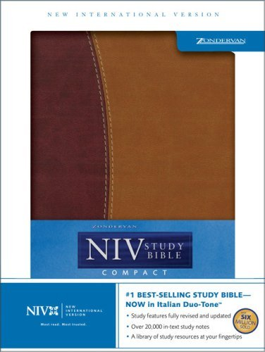 Holy Bible: NIV Zondervan NIV Study Bible, Compact Edition  by  Anonymous