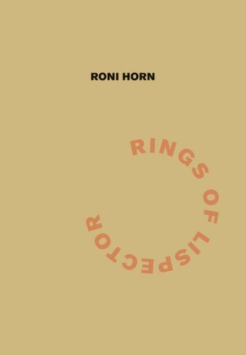 Rings of Lispector  by  Roni Horn