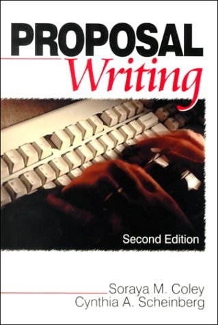 Proposal Writing  by  Soraya M. Coley