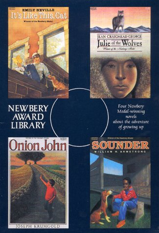 Newbery Award Library Box Set 1: Its Like This Cat, Julie of the Wolves, Onion John, Sounder  by  Emily Cheney Neville