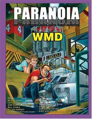 Paranoia WMD Traitor Recycling Studio