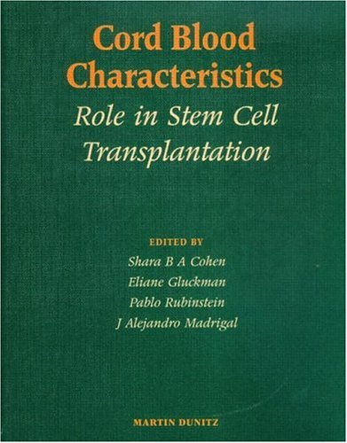 Cord Blood Characteristics: Role in Stem Cell Transplantation  by  Shara Cohen