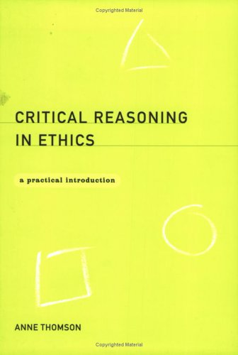 Critical Reasoning Anne Thomson