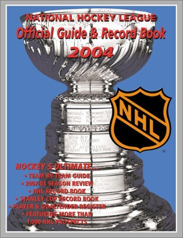 NHL Official Guide and Record Book Dan Diamond