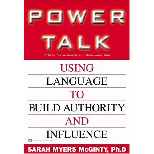 the power of talk essay Expert power is an individual's power deriving from the skills or expertise of the person and the organization's needs for those skills and expertise unlike the others, this type of power is usually highly specific and limited to the particular area in which the expert is trained and qualified.