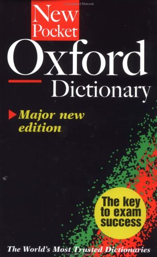 The New Pocket Oxford Dictionary Catherine Soanes