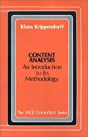 Content Analysis: An Introduction to Methodology