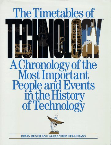 The Timetables of Technology: A Chronology of the Most Important People and Events in the History of Technology  by  Bryan Bunch