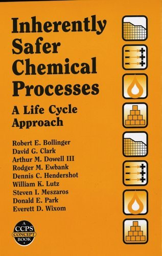 Inherently Safer Chemical Processes: A Life Cycle Approach (Center for Chemical Process Safety  by  Robert E. Bollinger