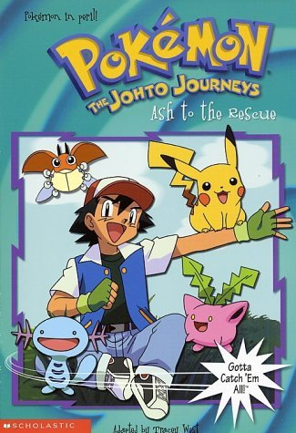 Ash to the Rescue (Pokémon Chapter Book, #23)  by  Tracey West