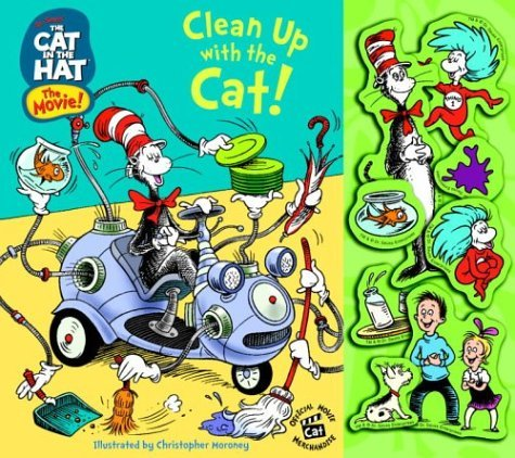 Clean Up With the Cat!  by  Christopher Moroney