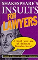 Shakespeare's Insults For Lawyers