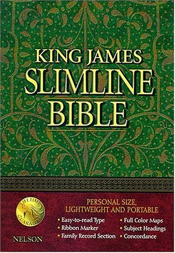 King James Slimline Bible  by  Anonymous