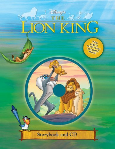 The Lion King Storybook and CD  by  Walt Disney Company