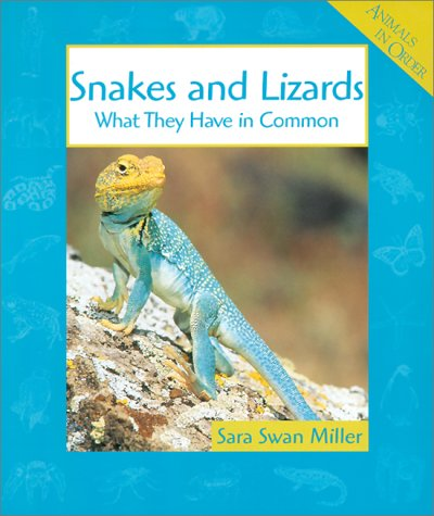 Snakes And Lizards: What They Have In Common Sara Swan Miller