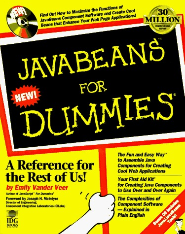 Java Beans for Dummies [With CDROM Including Javasofts Java Developers..]  by  Emily A. Vander Veer