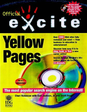 Official Excite Internet Yellow Pages  by  Cheri Robinson