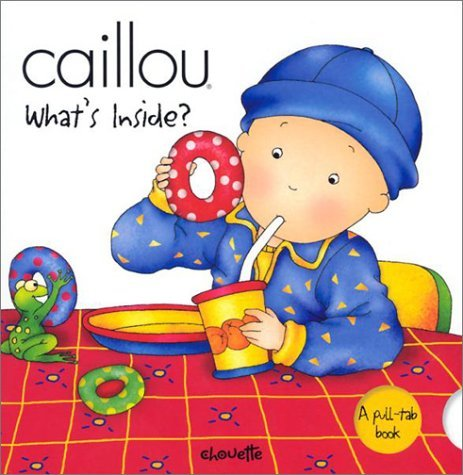 Caillou Whats Inside Fabien Savary