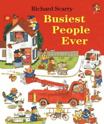 Busiest People Ever Richard Scarry